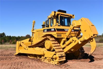 USED 1993 CATERPILLAR D8N DOZER EQUIPMENT #1865-9