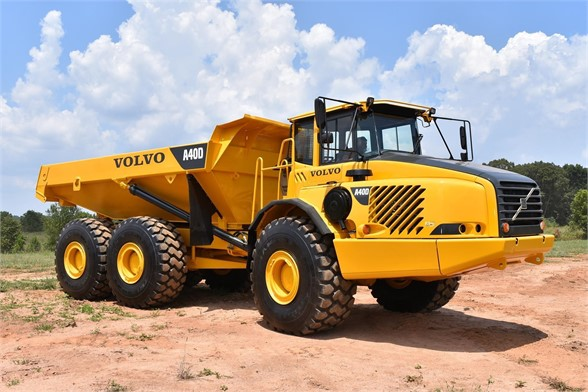 USED 2007 VOLVO A40D OFF HIGHWAY TRUCK EQUIPMENT #1873