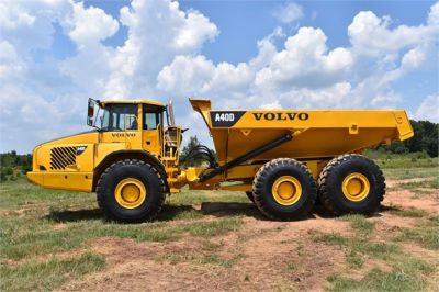 USED 2007 VOLVO A40D OFF HIGHWAY TRUCK EQUIPMENT #1873-7