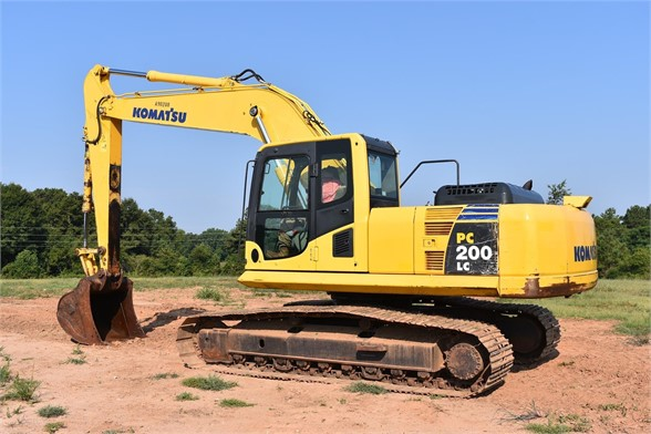USED 2011 KOMATSU PC200 LC-8 EXCAVATOR EQUIPMENT #1876