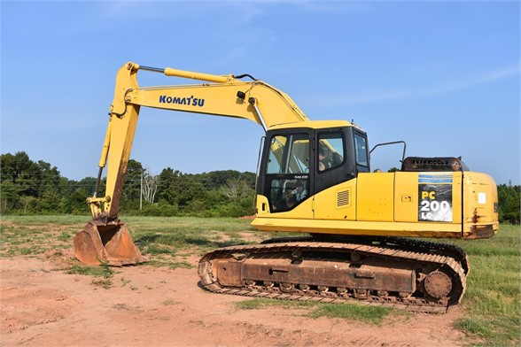 USED 2003 KOMATSU PC200 LC-7 EXCAVATOR EQUIPMENT #1877