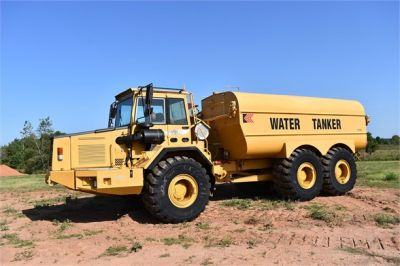 USED 1999 VOLVO A30C WATER TRUCK #1887-10