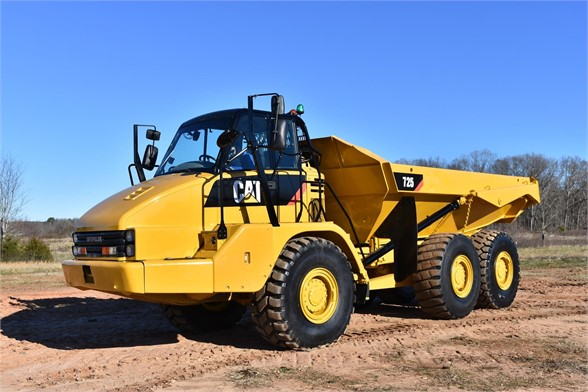 USED 2012 CATERPILLAR 725 OFF HIGHWAY TRUCK EQUIPMENT #1891