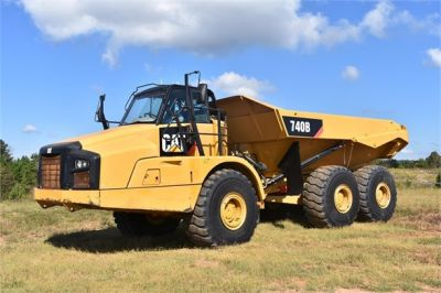 USED 2015 CATERPILLAR 740B OFF HIGHWAY TRUCK EQUIPMENT #1916-1