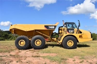 USED 2015 CATERPILLAR 740B OFF HIGHWAY TRUCK EQUIPMENT #1916-10