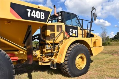 USED 2015 CATERPILLAR 740B OFF HIGHWAY TRUCK EQUIPMENT #1916-12