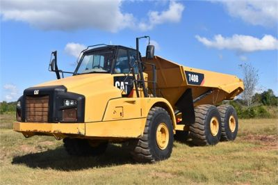 USED 2015 CATERPILLAR 740B OFF HIGHWAY TRUCK EQUIPMENT #1916-2