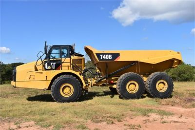 USED 2015 CATERPILLAR 740B OFF HIGHWAY TRUCK EQUIPMENT #1916-3