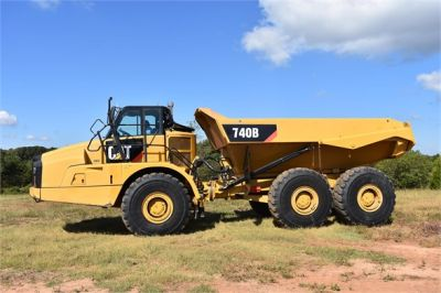 USED 2015 CATERPILLAR 740B OFF HIGHWAY TRUCK EQUIPMENT #1916-4