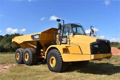 USED 2015 CATERPILLAR 740B OFF HIGHWAY TRUCK EQUIPMENT #1916-7