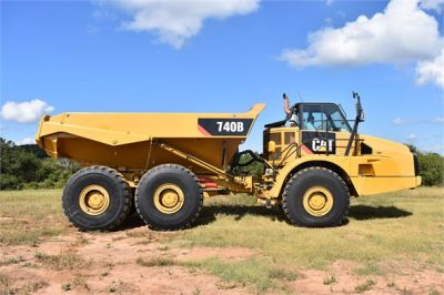 USED 2015 CATERPILLAR 740B OFF HIGHWAY TRUCK EQUIPMENT #1916-9