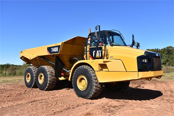 USED 2015 CATERPILLAR 740B OFF HIGHWAY TRUCK EQUIPMENT #1917