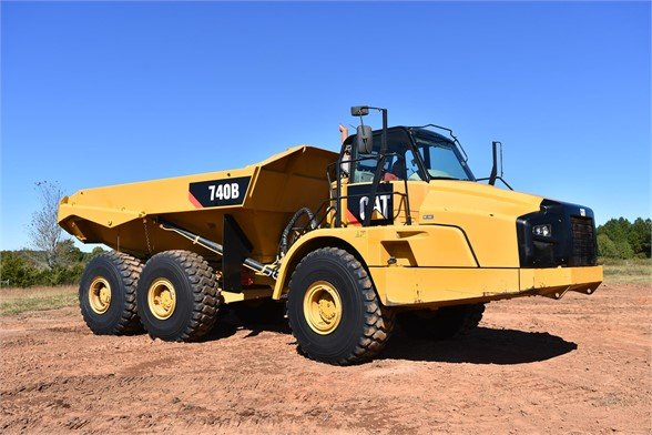 USED 2015 CATERPILLAR 740B OFF HIGHWAY TRUCK EQUIPMENT #1918