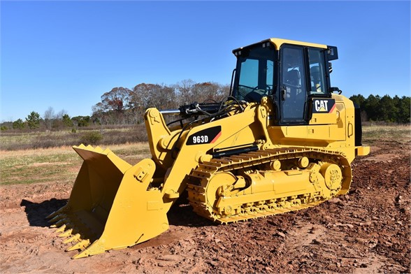 USED 2011 CATERPILLAR 963D CRAWLER LOADER EQUIPMENT #1943