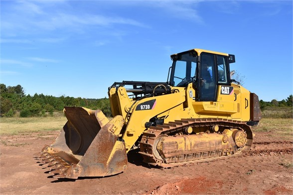 USED 2012 CATERPILLAR 973D CRAWLER LOADER EQUIPMENT #1965