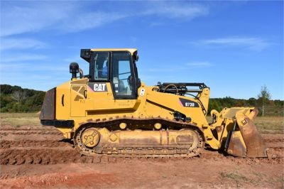 USED 2012 CATERPILLAR 973D CRAWLER LOADER EQUIPMENT #1965-11