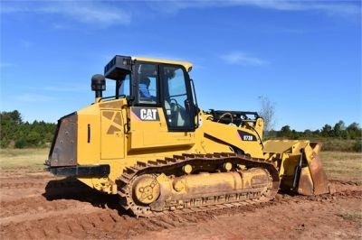USED 2012 CATERPILLAR 973D CRAWLER LOADER EQUIPMENT #1965-12