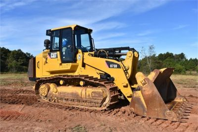 USED 2012 CATERPILLAR 973D CRAWLER LOADER EQUIPMENT #1965-13