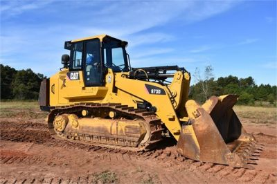 USED 2012 CATERPILLAR 973D CRAWLER LOADER EQUIPMENT #1965-14