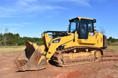USED 2012 CATERPILLAR 973D CRAWLER LOADER EQUIPMENT #1965-6