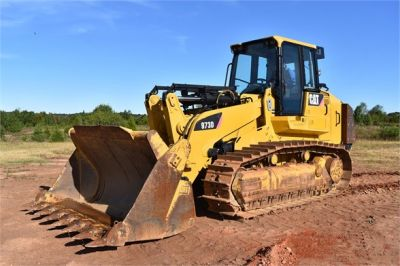 USED 2012 CATERPILLAR 973D CRAWLER LOADER EQUIPMENT #1965-7