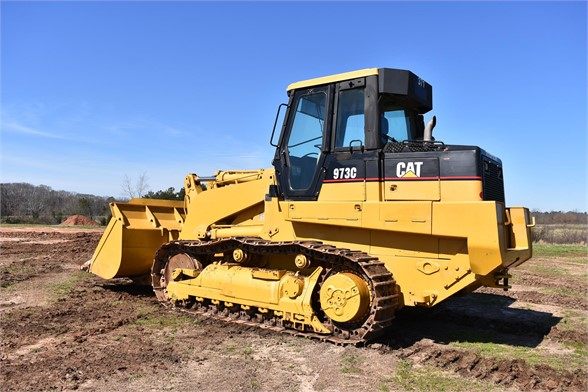 USED 2004 CATERPILLAR 973C CRAWLER LOADER EQUIPMENT #2037