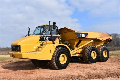 USED 2010 CATERPILLAR 740 OFF HIGHWAY TRUCK EQUIPMENT #2039-13