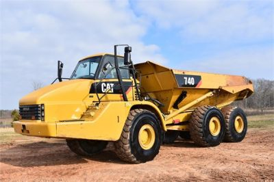 USED 2010 CATERPILLAR 740 OFF HIGHWAY TRUCK EQUIPMENT #2039-18