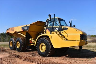 USED 2010 CATERPILLAR 740 OFF HIGHWAY TRUCK EQUIPMENT #2039-2
