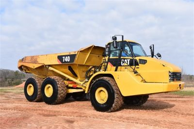 USED 2010 CATERPILLAR 740 OFF HIGHWAY TRUCK EQUIPMENT #2039-20