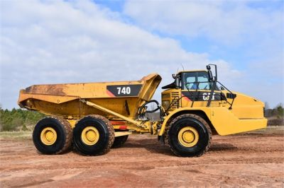 USED 2010 CATERPILLAR 740 OFF HIGHWAY TRUCK EQUIPMENT #2039-21