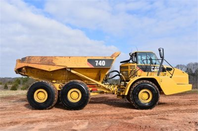 USED 2010 CATERPILLAR 740 OFF HIGHWAY TRUCK EQUIPMENT #2039-22