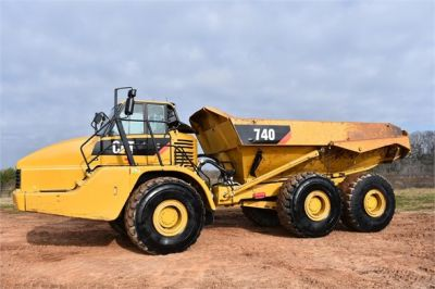 USED 2010 CATERPILLAR 740 OFF HIGHWAY TRUCK EQUIPMENT #2039-23
