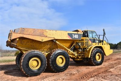 USED 2010 CATERPILLAR 740 OFF HIGHWAY TRUCK EQUIPMENT #2039-25