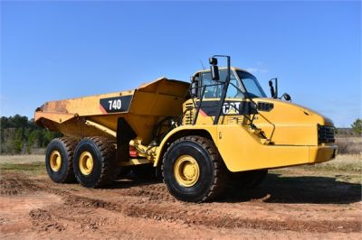 USED 2010 CATERPILLAR 740 OFF HIGHWAY TRUCK EQUIPMENT #2039-27
