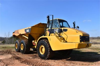 USED 2010 CATERPILLAR 740 OFF HIGHWAY TRUCK EQUIPMENT #2039-3