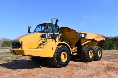 USED 2010 CATERPILLAR 740 OFF HIGHWAY TRUCK EQUIPMENT #2039-32