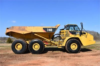 USED 2010 CATERPILLAR 740 OFF HIGHWAY TRUCK EQUIPMENT #2039-5