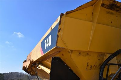 USED 2010 CATERPILLAR 740 OFF HIGHWAY TRUCK EQUIPMENT #2039-60