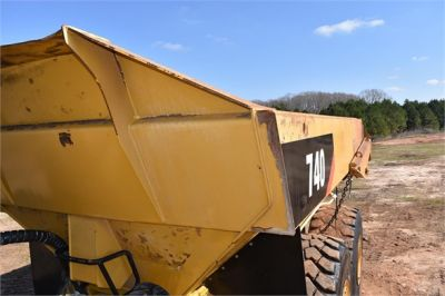 USED 2010 CATERPILLAR 740 OFF HIGHWAY TRUCK EQUIPMENT #2039-61