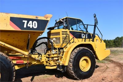 USED 2010 CATERPILLAR 740 OFF HIGHWAY TRUCK EQUIPMENT #2039-64