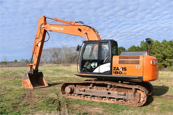 USED 2013 HITACHI ZX180 LC-5 EXCAVATOR EQUIPMENT #2048