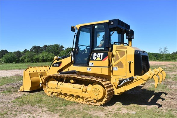 USED 2011 CATERPILLAR 953D CRAWLER LOADER EQUIPMENT #2049