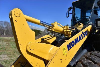 USED 2015 KOMATSU WA270-7 WHEEL LOADER EQUIPMENT #2058-14