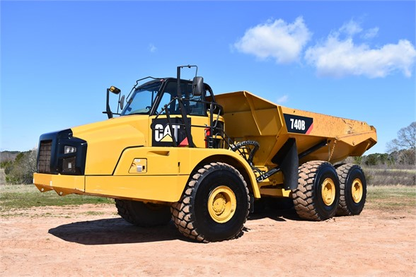 USED 2011 CATERPILLAR 740B OFF HIGHWAY TRUCK EQUIPMENT #2064
