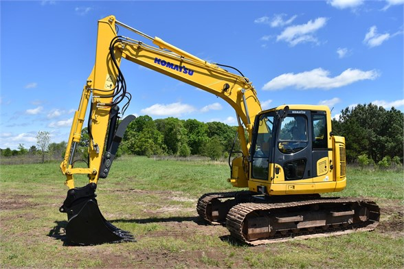 USED 2015 KOMATSU PC138US LC-10 EXCAVATOR EQUIPMENT #2077