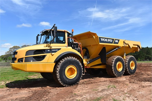 USED 2015 VOLVO A40G OFF HIGHWAY TRUCK EQUIPMENT #2078