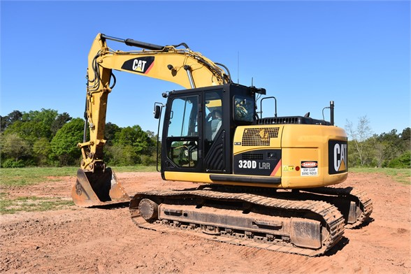 USED 2011 CATERPILLAR 320DLRR EXCAVATOR EQUIPMENT #2081