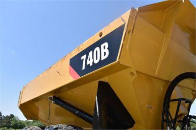 USED 2014 CATERPILLAR 740B OFF HIGHWAY TRUCK EQUIPMENT #2086-24