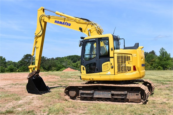 USED 2017 KOMATSU PC138US LC-11 EXCAVATOR EQUIPMENT #2089